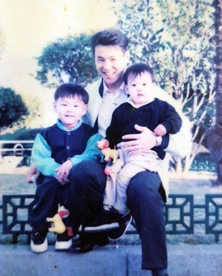 ジョングク,家族,両親
