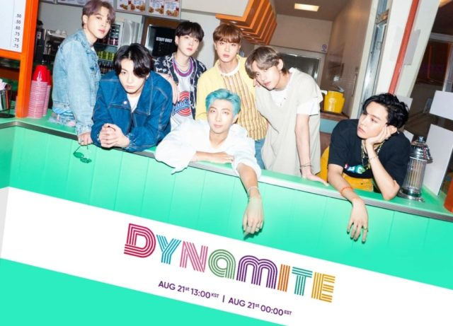 BTS,Dynamite,歌詞