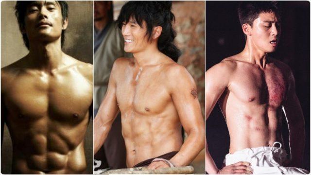 韓国,俳優,筋肉